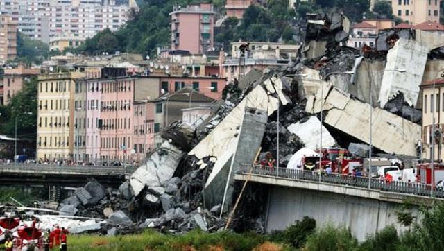 Vụ sập cầu cạn tại Italy: Công ty Autostrade per l'Italia chi 500 triệu euro hỗ trợ thành phố Genoa