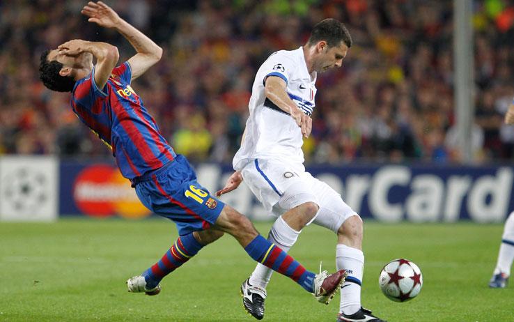 Barca rơi vào bảng tử thần tại Champions League