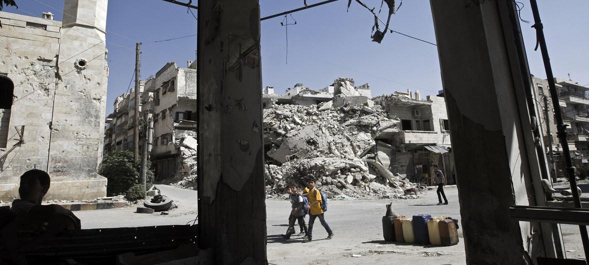 Nguy cơ khủng hoảng nhân đạo tại khu vực Tây Bắc Syria
