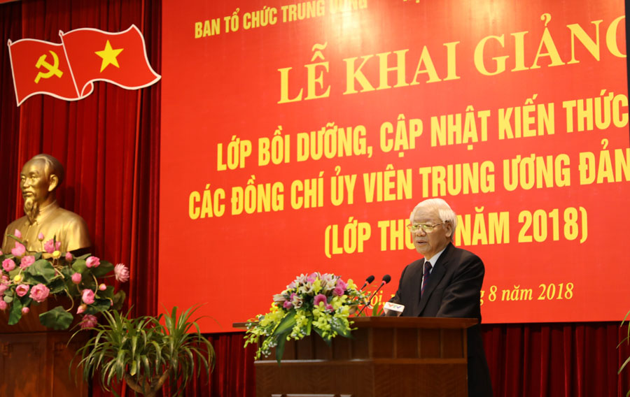 Phát biểu của Tổng Bí thư Nguyễn Phú Trọng tại lớp bồi dưỡng đối với Ủy viên Trung ương Đảng