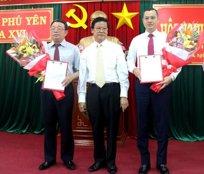 Thứ trưởng Bộ Khoa học và Công nghệ Phạm Đại Dương giữ chức Phó Bí thư Tỉnh ủy Phú Yên