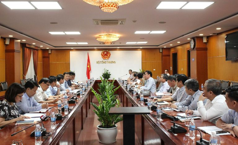 Bộ Công Thương làm việc với Đoàn Trưởng Cơ quan đại diện nhiệm kỳ 2018-2021