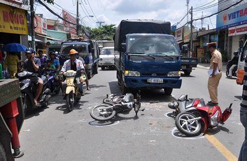 Tháng 8: Tai nạn giao thông tăng cả 3 tiêu chí