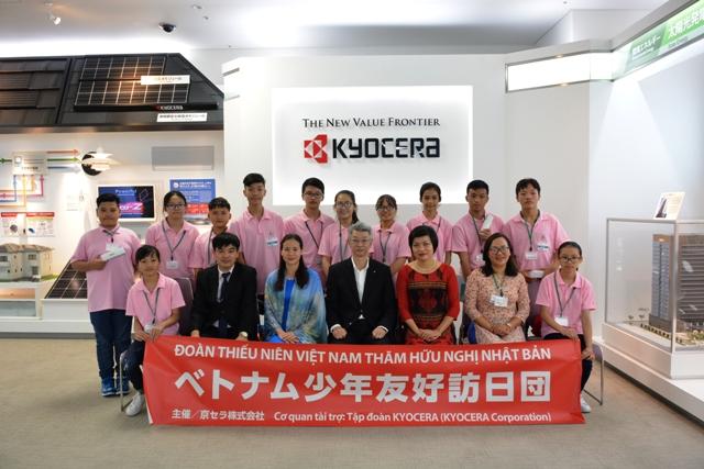 Giao lưu văn hoá lần thứ 3 cho trẻ em Việt Nam tại Kyocera (Nhật Bản)