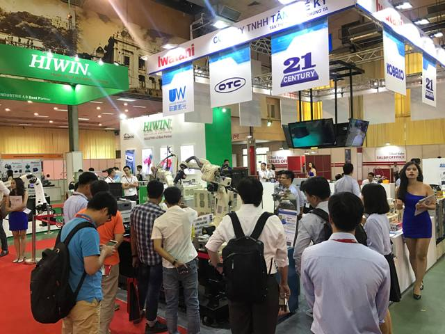 200 thương hiệu tham gia Vietnam Manufacturing Expo 2018