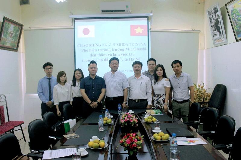 Trường Cao đẳng Quốc tế Hà Nội: Cánh cửa mở ra tương lai tươi sáng