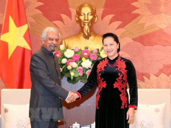 Chủ tịch Quốc hội tiếp Điều phối viên thường trú Liên hợp quốc và Trưởng đại diện UNICEF tại Việt Nam