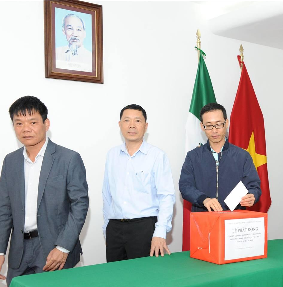 Quyên góp ủng hộ nhân dân Lào bị ảnh hưởng do sự cố vỡ đập thủy điện