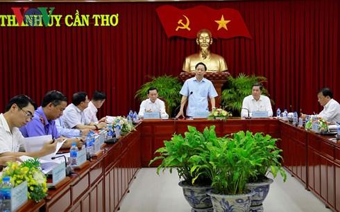 Đoàn công tác Ban Chỉ đạo Trung ương về phòng, chống tham nhũng làm việc tại Cần Thơ