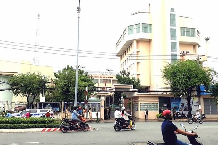 Tạm giữ đối tượng nghiện ma túy ôm bình gas xông vào Trung tâm Truyền hình Việt Nam tại Cần Thơ
