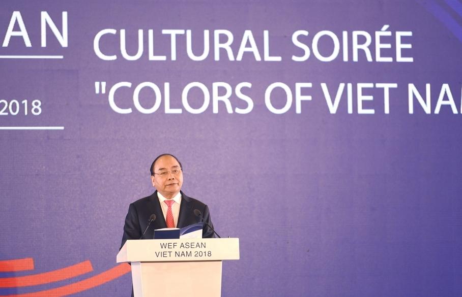 WEF ASEAN 2018: Dạ hội Quảng bá văn hóa Việt Nam