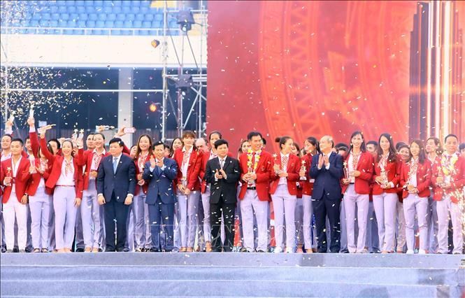 Lễ vinh danh Đoàn thể thao Việt Nam dự ASIAD 2018: Nhân niềm vui, thắp sáng ước mơ