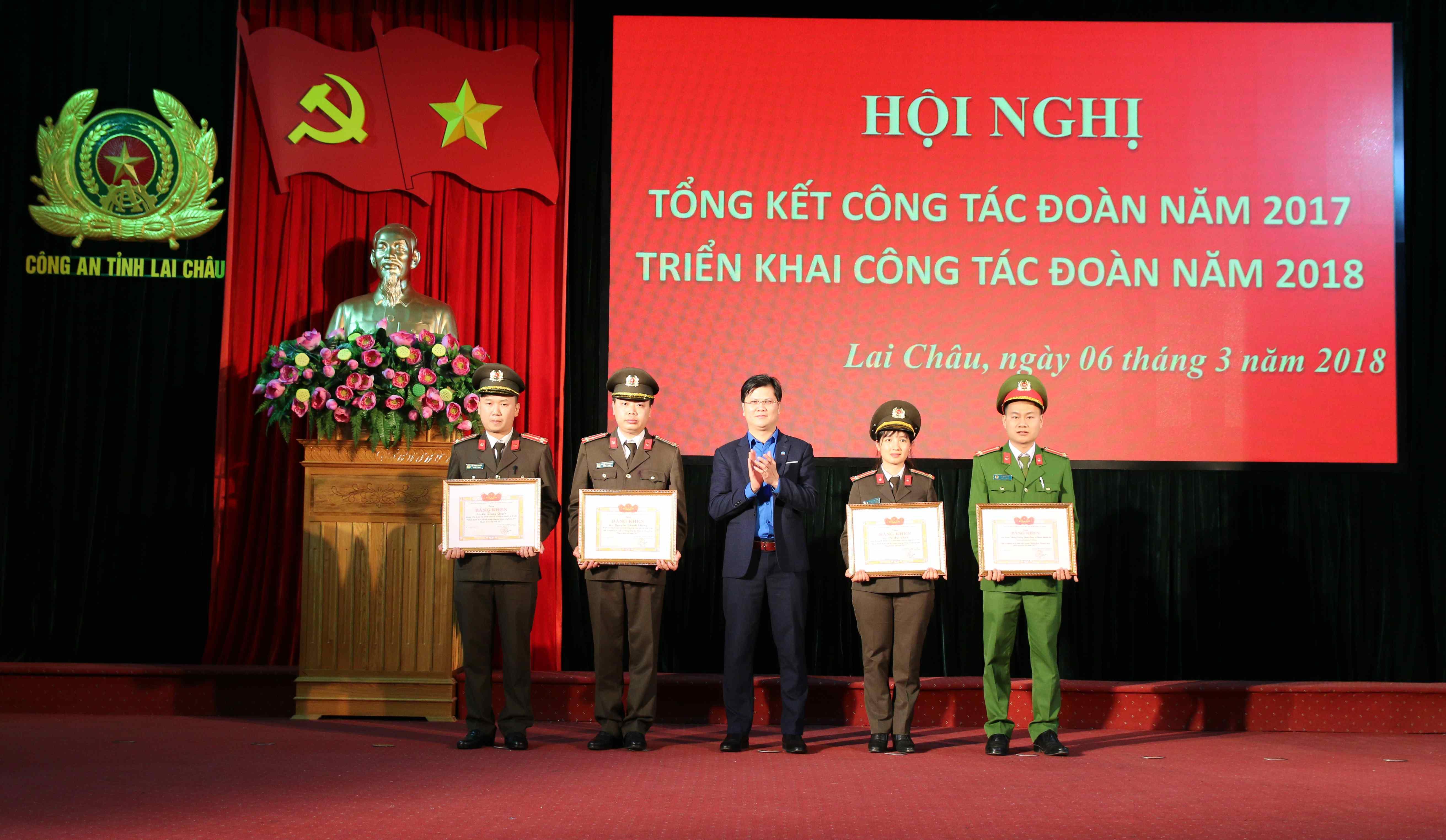 Tuổi trẻ Công an tỉnh Lai Châu học và làm theo 6 điều Bác dạy