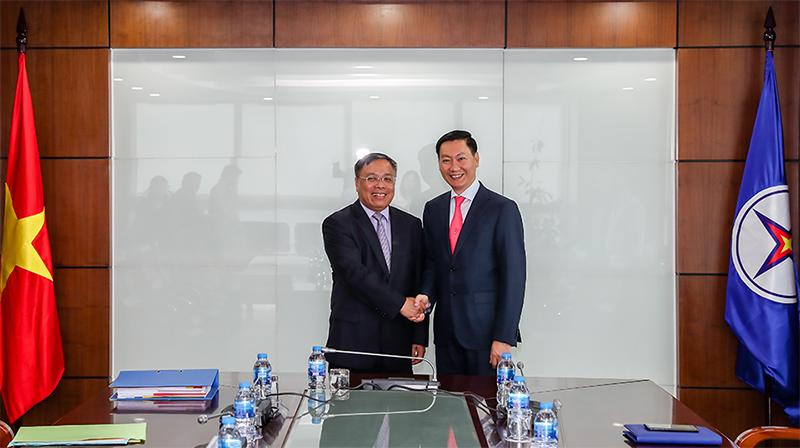 Tổng giám đốc Tổng công ty Điện lực Campuchia làm việc tại EVN