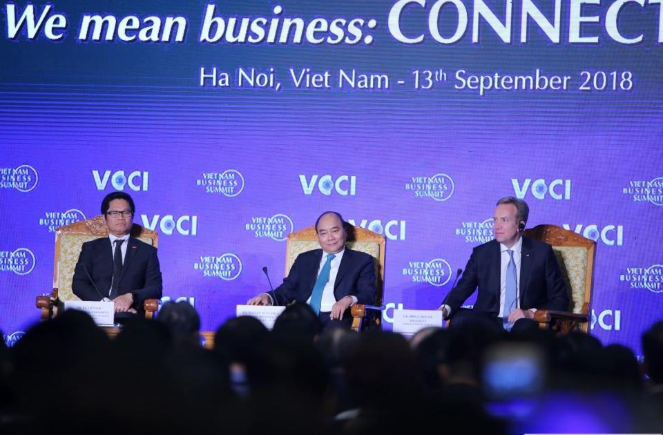 """Hội nghị Thượng đỉnh kinh doanh Việt Nam: """"Việt Nam và chuỗi giá trị toàn cầu"""