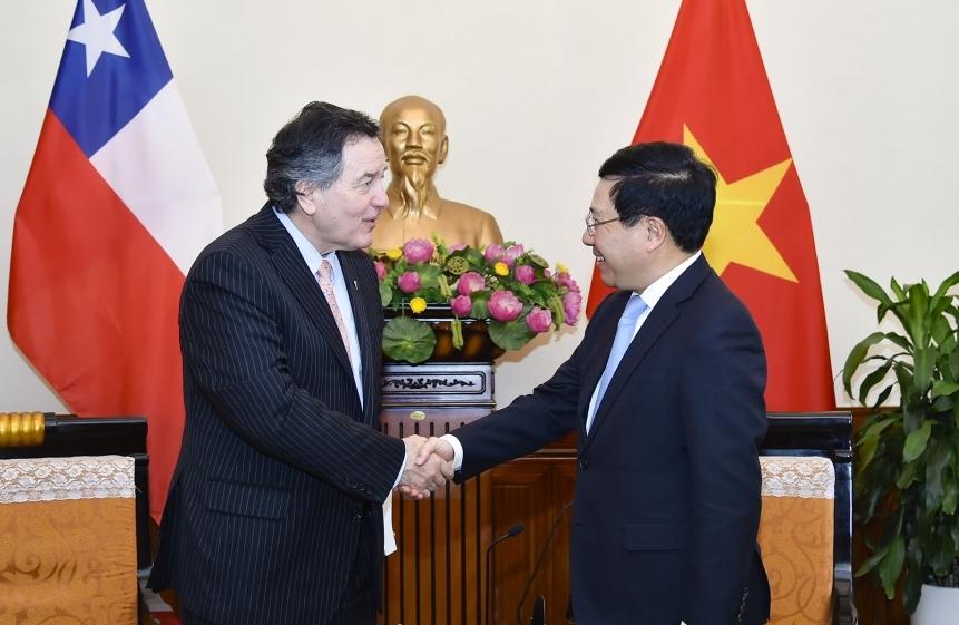 Việt Nam luôn coi Chi-lê là đối tác quan trọng hàng đầu ở khu vực Mỹ La-tinh