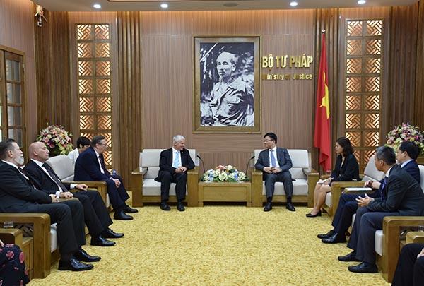 Tăng cường mối quan hệ hợp tác tư pháp và pháp luật giữa Việt Nam – Hungary
