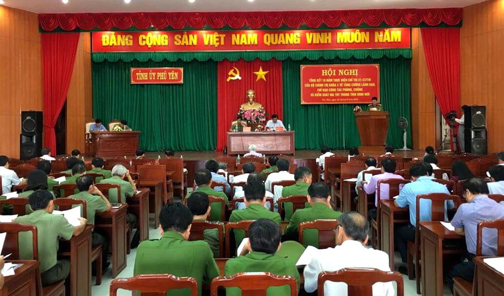 Phú Yên tăng cường công tác phòng, chống, kiểm soát ma túy 