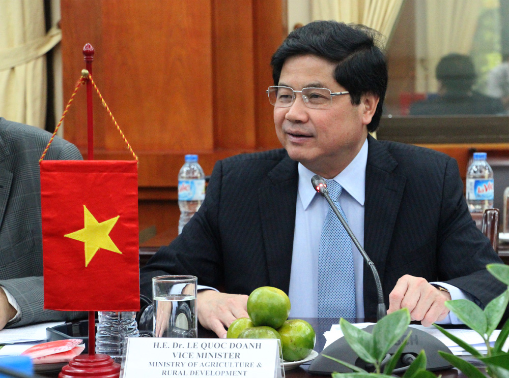 Triển vọng hợp tác Việt Nam - WEF trong nông nghiệp