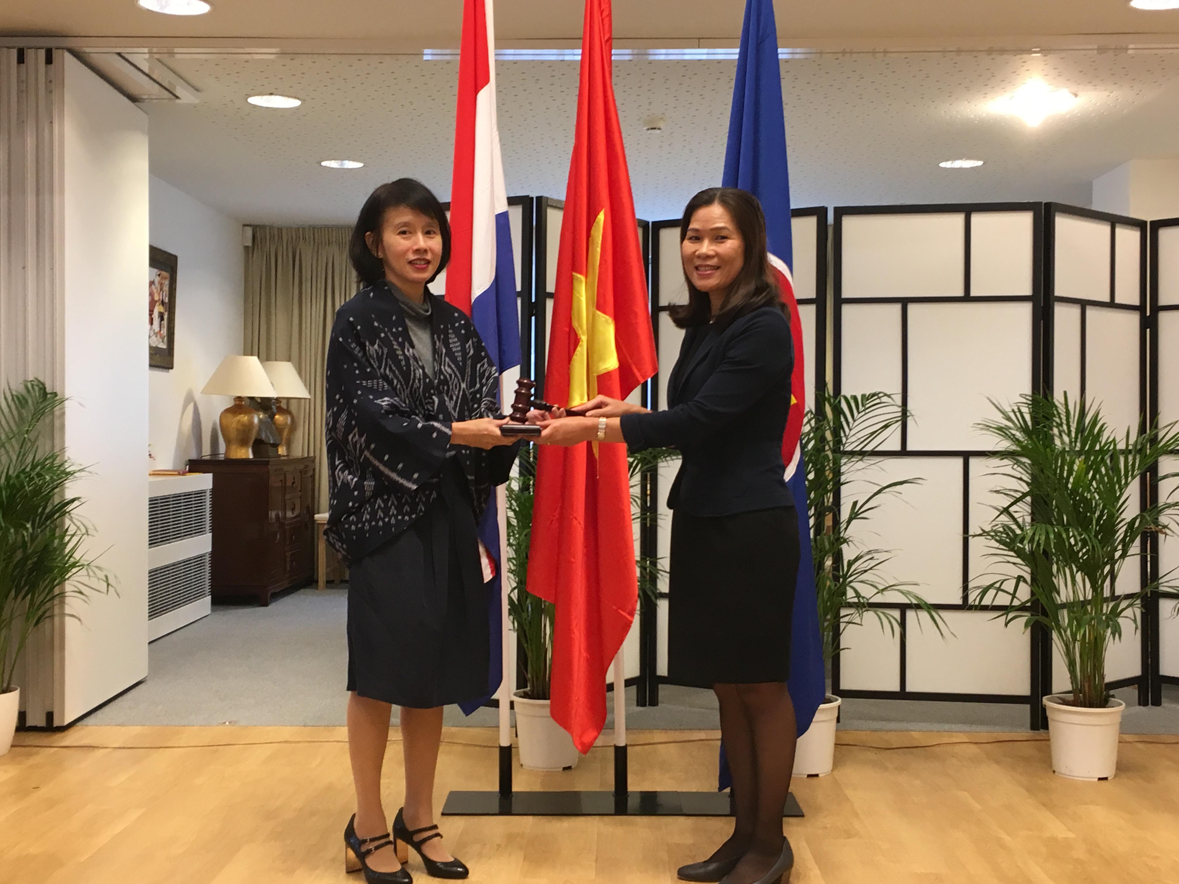 Việt Nam đã đảm đương xuất sắc vai trò Chủ tịch Ủy ban ASEAN tại La Hay