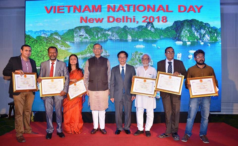 Nhiều hoạt động kỷ niệm 73 năm Quốc khánh Việt Nam tại Ấn Độ