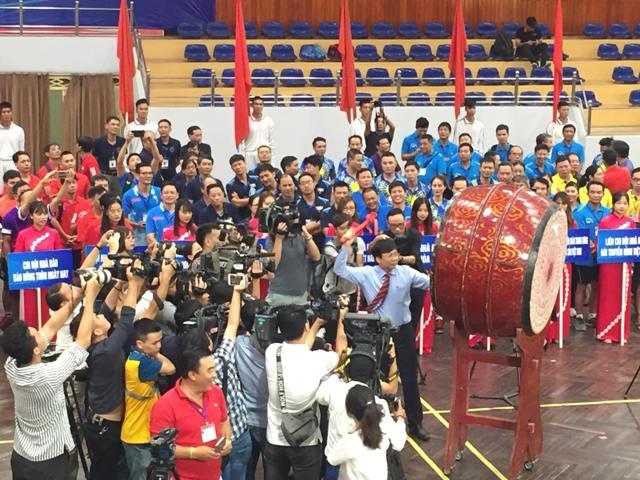 Khai mạc Giải Bóng bàn Cúp Hội Nhà báo Việt Nam lần thứ XII