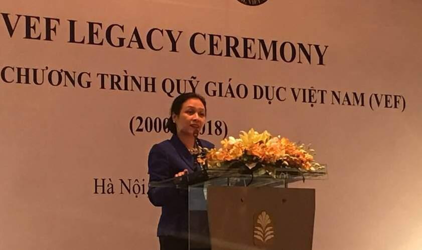 VEF trao gần 700 suất học bổng cho học viên Việt Nam
