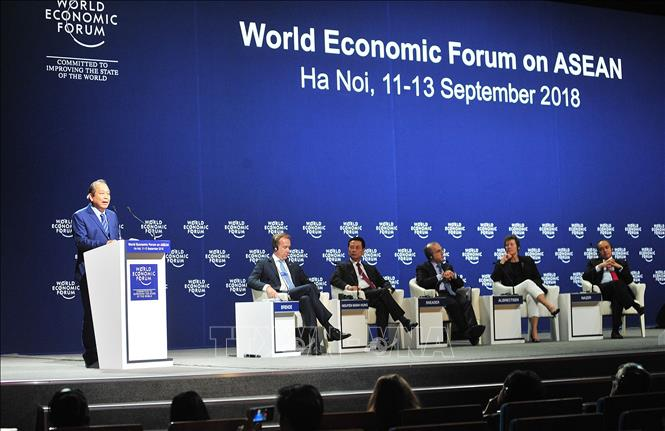 Bế mạc Hội nghị Diễn đàn Kinh tế thế giới về ASEAN 2018