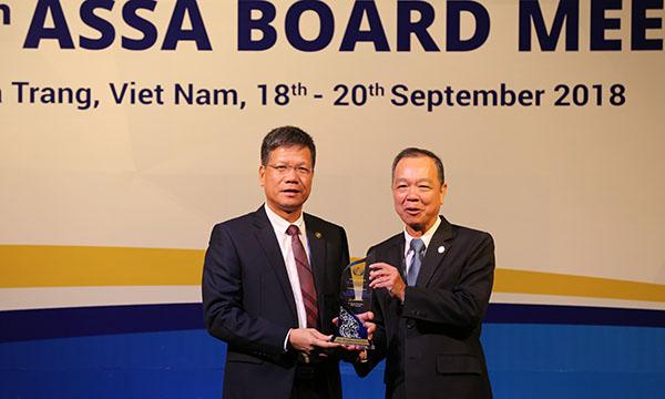 Bảo hiểm xã hội Việt Nam vinh dự nhận giải thưởng về công nghệ thông tin tại Hội nghị ASSA 35