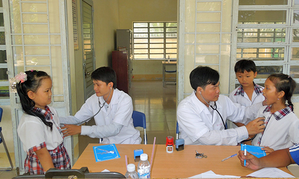 An Giang: Hơn 350 nghìn học sinh sinh viên tham gia bảo hiển y tế năm học mới  