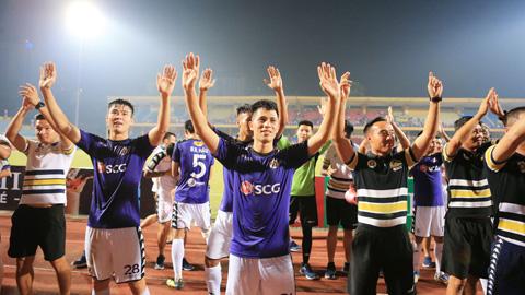 Hà Nội đăng quang sớm 5 vòng tại V-League