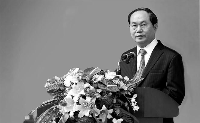 Lãnh đạo nhiều nước chia buồn về việc Chủ tịch nước Trần Đại Quang từ trần