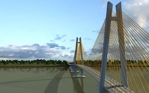 Phê duyệt Khung chính sách hỗ trợ tái định cư DA cầu Mỹ Thuận 2