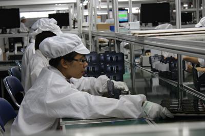 Vĩnh Phúc: Sản xuất công nghiệp tăng trưởng khá