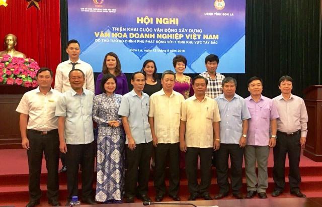 """Phát động Cuộc vận động """"Xây dựng văn hóa doanh nghiệp tại Việt Nam"""" ở 7 tỉnh Tây Bắc"""