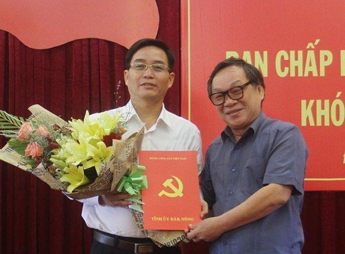 Ban Bí thư Trung ương Đảng chuẩn y Phó Bí thư Tỉnh ủy Đăk Nông