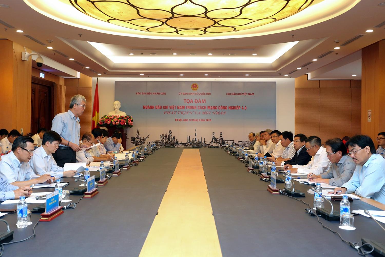 """""""Ngành Dầu khí Việt Nam trong cách mạng công nghiệp 4.0"""""""
