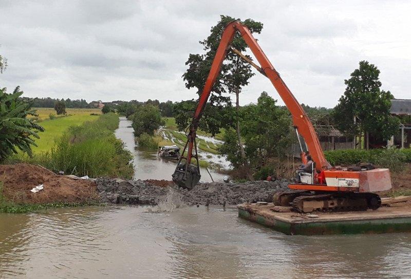 Đồng bằng sông Cửu Long: Chủ động phòng chống lũ lên cao
