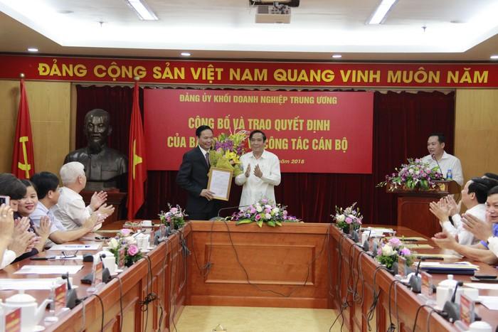 Đảng ủy Khối Doanh nghiệp Trung ương có Phó Bí thư mới