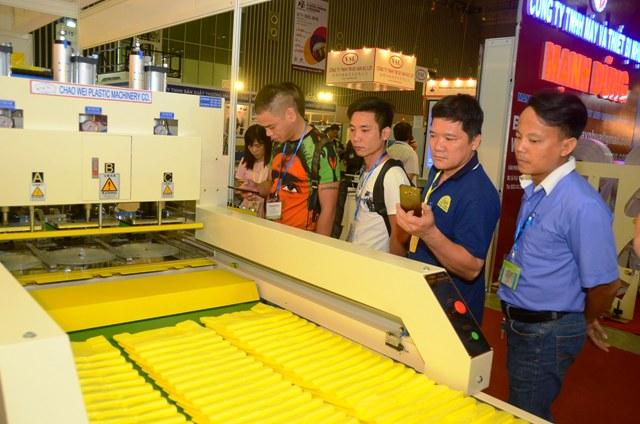 Triển lãm quốc tế về máy móc thiết bị công nghiệp ngành nhựa và cao su 2018