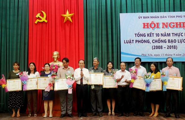 Phú Yên tổng kết 10 năm thực hiện Luật Phòng, chống bạo lực gia đình