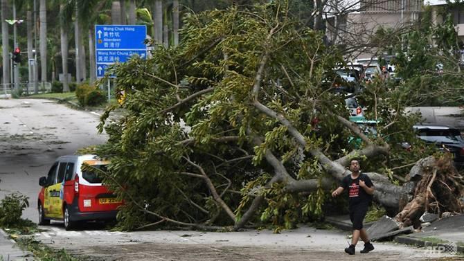 Siêu bão Mangkhut hoành hành tại Trung Quốc