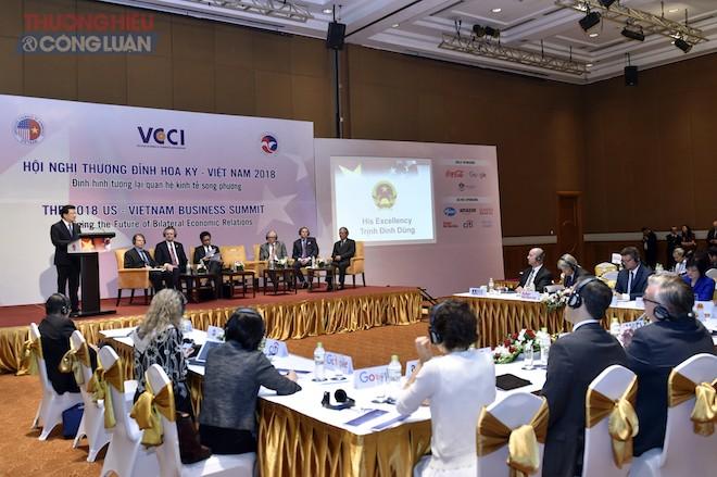 """Hội nghị Thượng đỉnh kinh doanh Hoa Kỳ - Việt Nam 2018: """"Định hình tương lai quan hệ kinh tế song phương"""""""