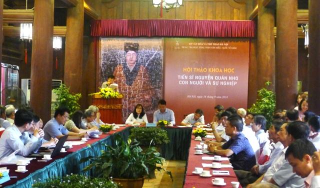 Tôn vinh tài năng và khí phách của danh nhân Nguyễn Quán Nho