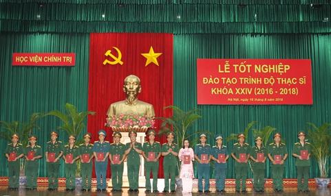 Xứng đáng là cơ sở giáo dục đào tạo và nghiên cứu khoa học hàng đầu của Quân đội