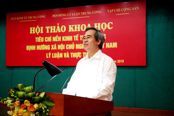 Xây dựng Bộ tiêu chí về nền kinh tế thị trường định hướng xã hội chủ nghĩa