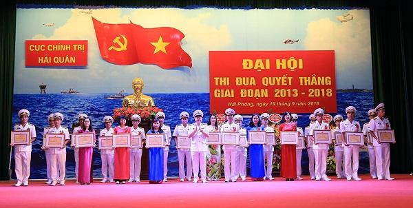 Cục Chính trị Hải quân - đơn vị xuất sắc trong phong trào thi đua Quyết thắng