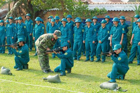 Việc xây dựng Luật Dân quân tự vệ (sửa đổi) là cần thiết