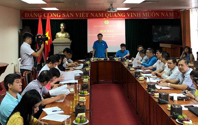 950 đại biểu dự Đại hội Công đoàn Việt Nam lần thứ XII