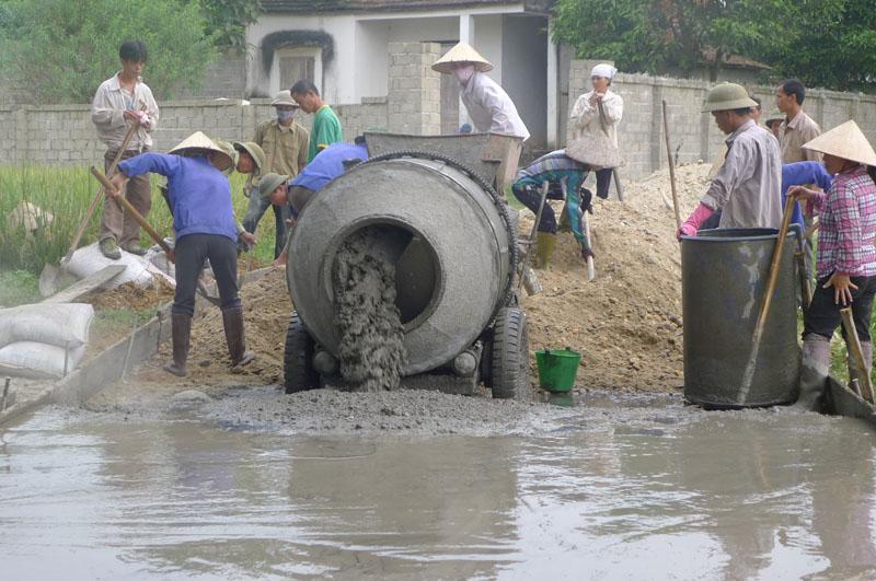 Xây dựng nông thôn mới ở thôn Lời: Sức mạnh từ sự đoàn kết